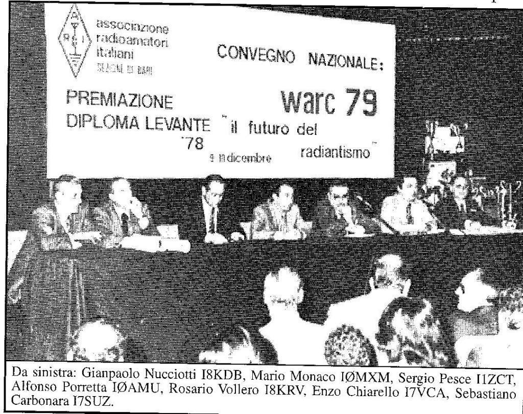 Convegno 1978 per WARC 1979